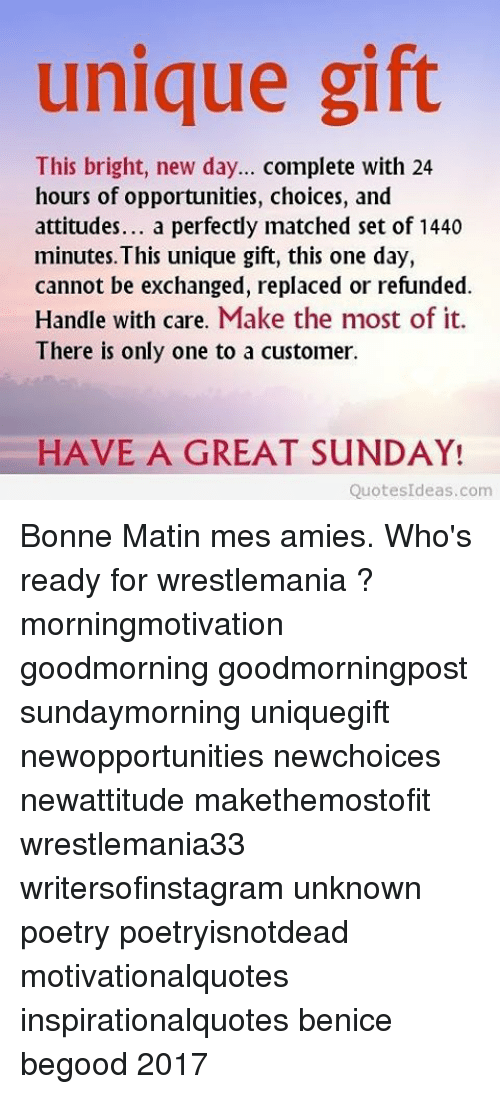 Unique Gift This Bright New Day Complete With 24 Hours Of