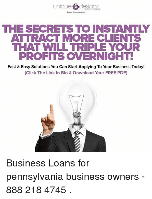 Overnight Business Loans Solutions