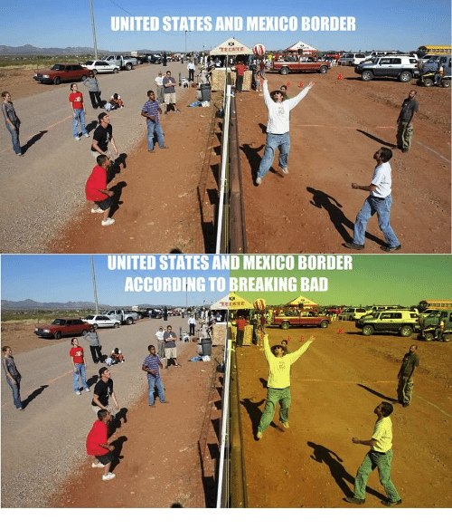 AuBergewohnlich Bad, Breaking Bad, And Mexico: UNITED STATES AND MEXICO BORDER TECATE  UNITED STATES