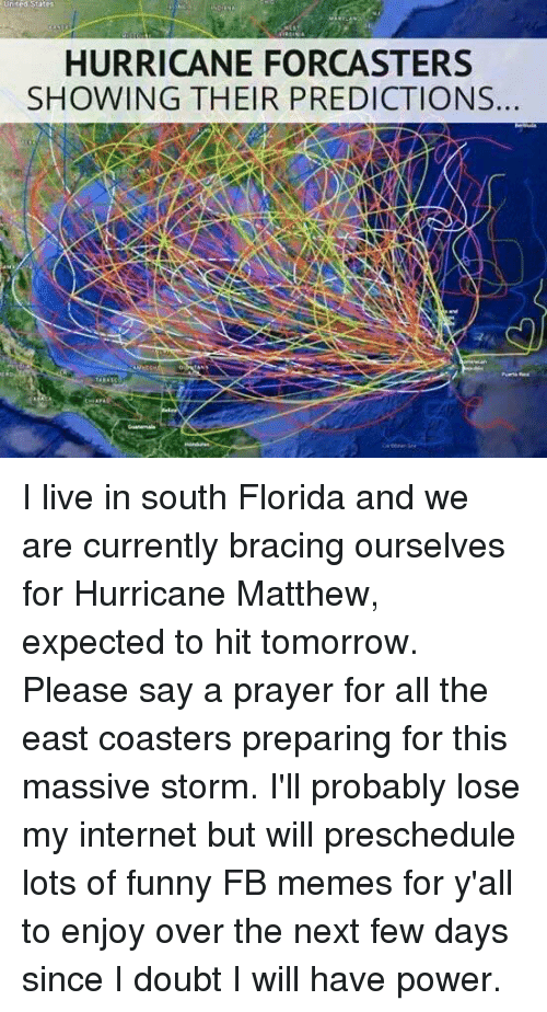 United States Hurricane Forcasters Showing Their Predictions I