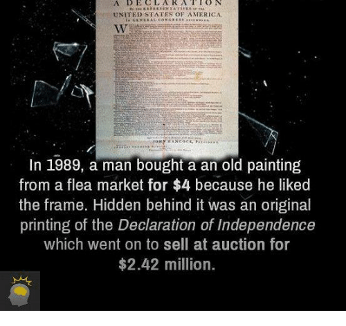 UNITED STATES OF AMERICA in 1989 a Man Bought a an Old Painting From ...