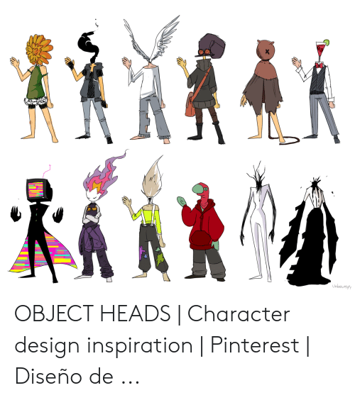 Unknbusp OBJECT HEADS | Character Design Inspiration ...