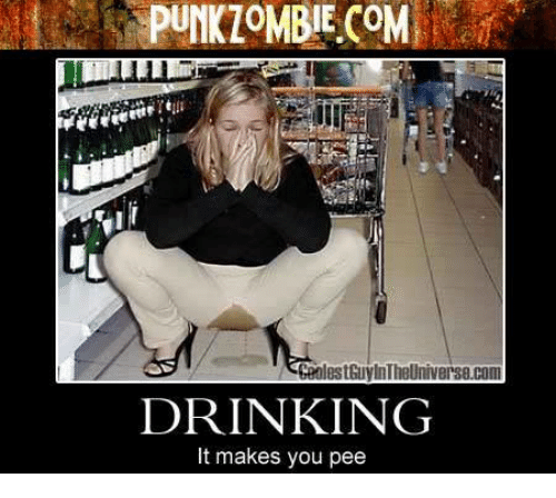 What drinks make you pee