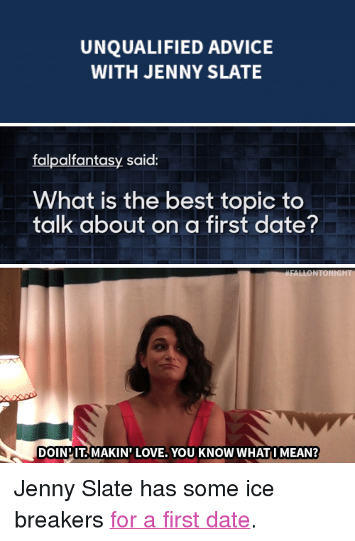 first date icebreakers