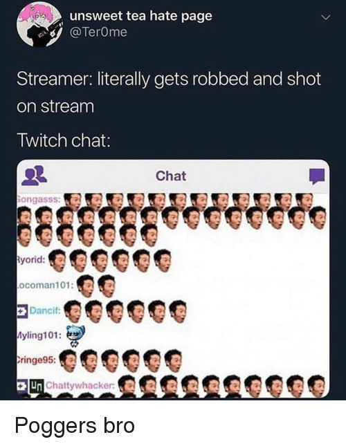 Unsweet Tea Hate Page Streamer Literally Gets Robbed and Shot on