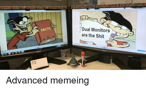 Facts, Reddit, and Shit: Untitled2-Windows Photo Viewer  File , Pnnt E-masi Burn . Open ,  indows Phote V  pnnt E.mail จum. Open  Dual Monitors  are the Shit  FACTS  0 //2019  ORE.  unity  on  AMC  Extra  action  1012