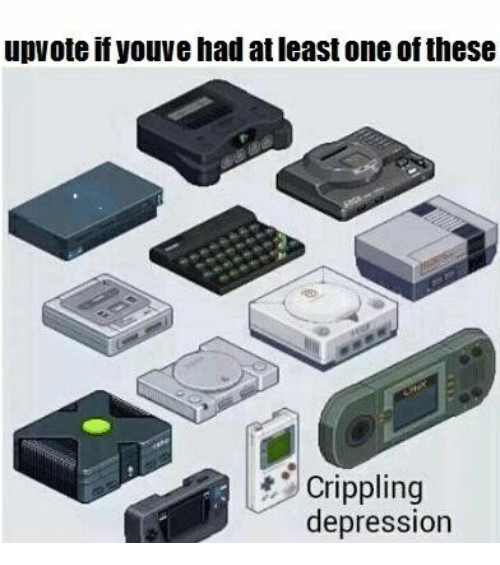 Depression, One, and Crippling: upvote if youve had at least one of these  Crippling  depression