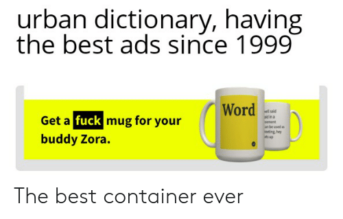 Urban Dictionary Having the Best Ads Since 1999 Word Wl Said