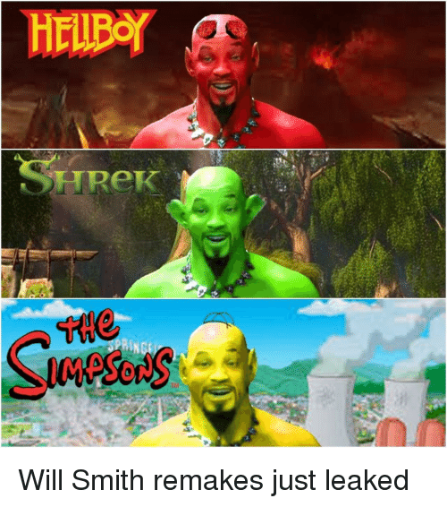 Will Smith, Will, and Just: UReK Will Smith remakes just leaked