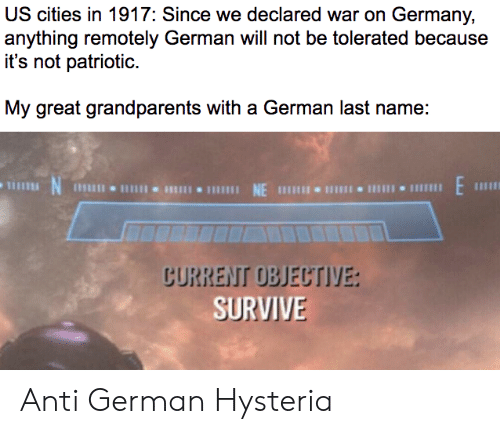 US Cities in 1917 Since We Declared War on Germany Anything