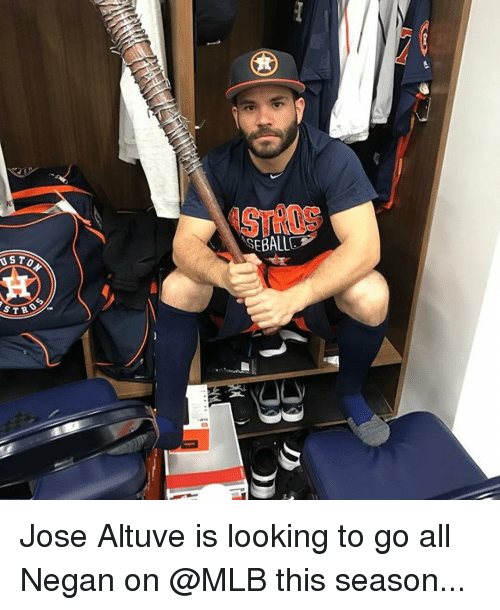 us to str jose altuve is looking to go all 14652010 us to str jose altuve is looking to go all negan on this season