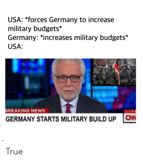 True News Usa >> Usa Forces Germany To Increase Military Budgets Germany
