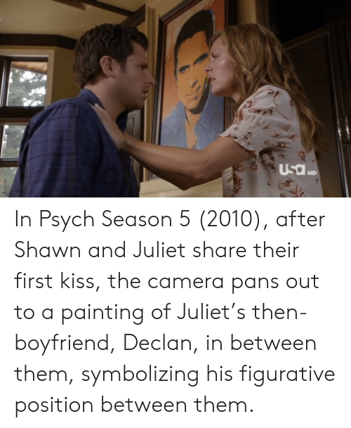 Psych doet Shawn hook up Juliet