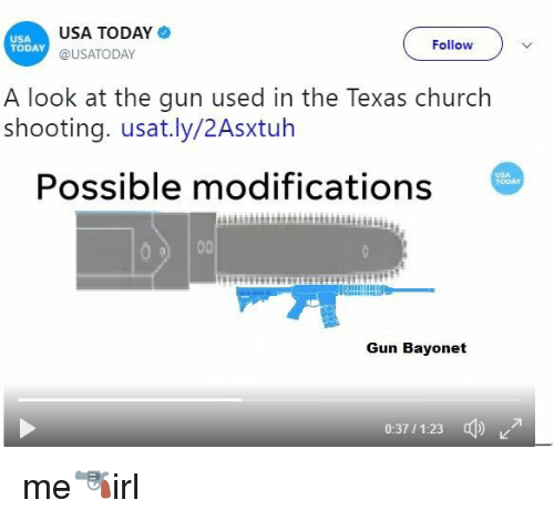 School Shooting Usa Today: USA TODAY USA TODAY Follow A Look At The Gun Used In The