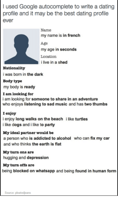 Best dating profile names