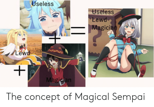 Useless Useless Lewd Magician Lewd Magicjan The Concept Of Magical