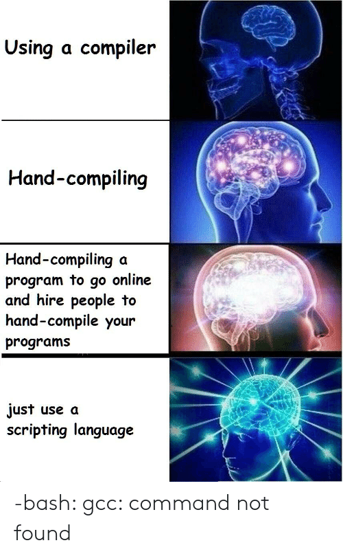 Using a Compiler Hand-Compiling Hand-Compiling a Program to Go