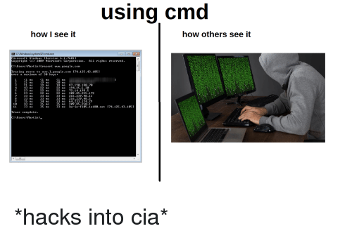 Using Cmd How I See It How Others See It CWindows