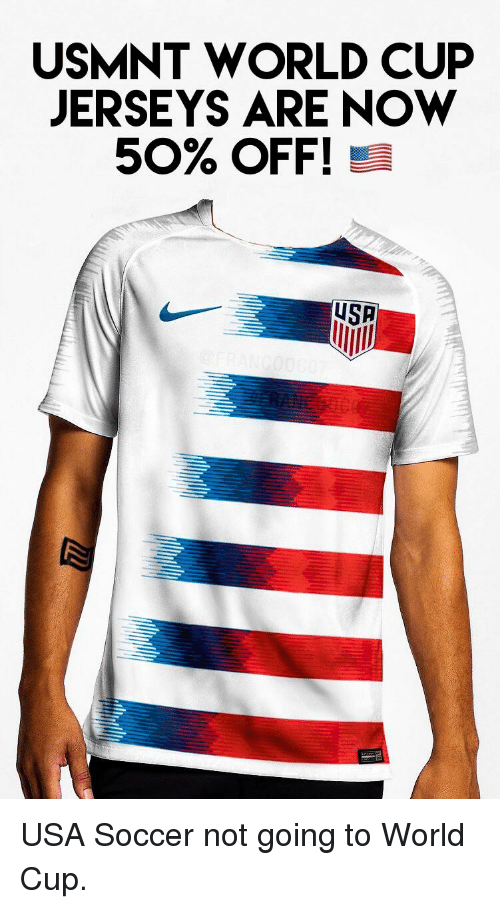 6f196a3474f USMNT WORLD CUP JERSEYS ARE NOW 50% OFF! USA