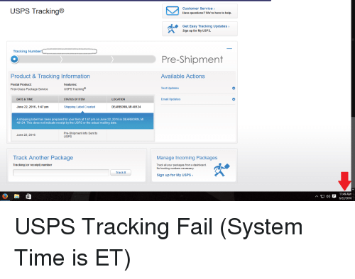 usps tracking tracking number product tracking information