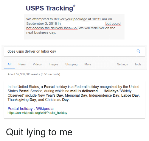 USPS Tracking We Attempted to Deliver Your Package at 1031 Am on