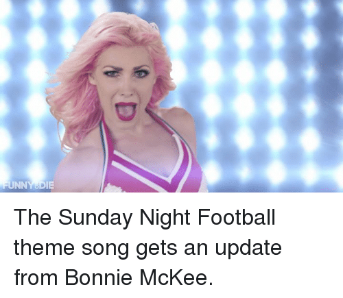 Ut The Sunday Night Football Theme Song Gets An Update From Bonnie