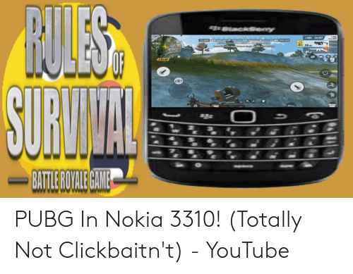 UTO 201 BATLEROYALEGAME PUBG in Nokia 3310! Totally Not