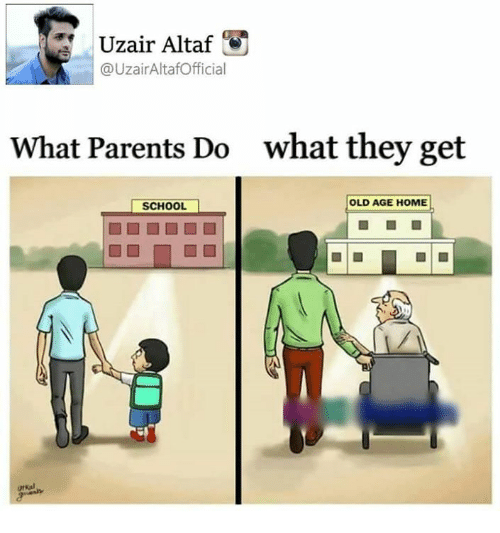 Uzair Altaf What Parents Do What They Get OLD AGE HOME