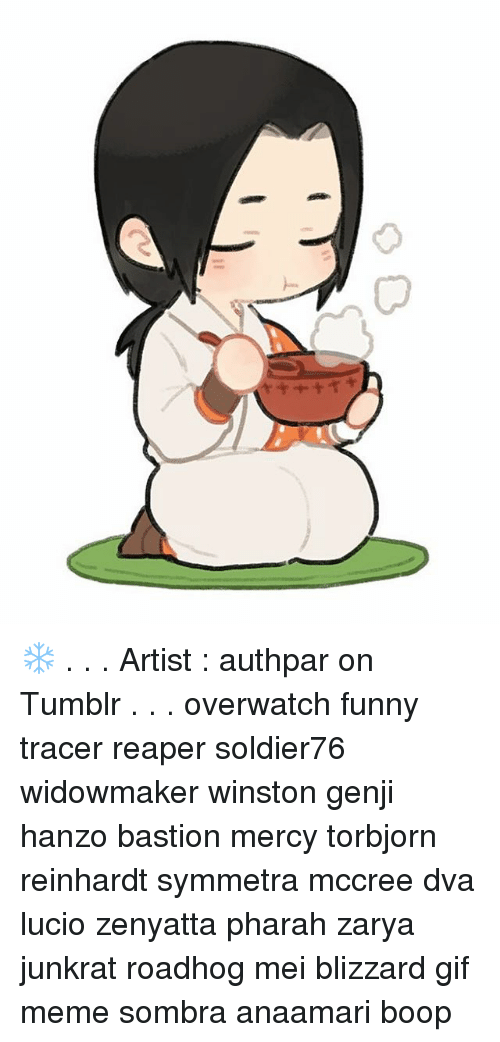 V 口 Artist Authpar On Tumblr Overwatch Funny Tracer Reaper