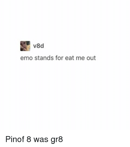 Emo Stands For