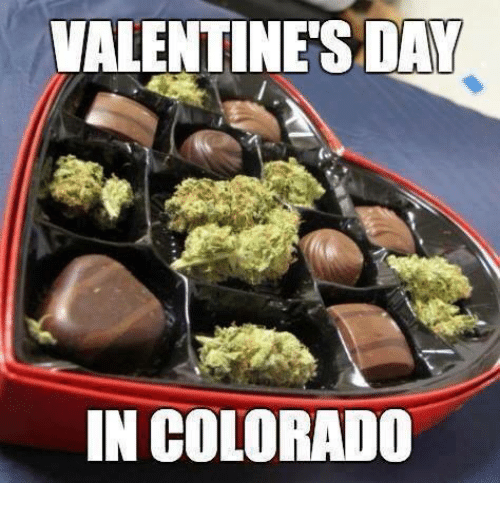 Memes, Valentine's Day, and Colorado: VALENTINE'S DAY  IN COLORADO