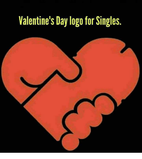 Valentine S Day Logo For Singles Valentine S Day Meme On Me Me