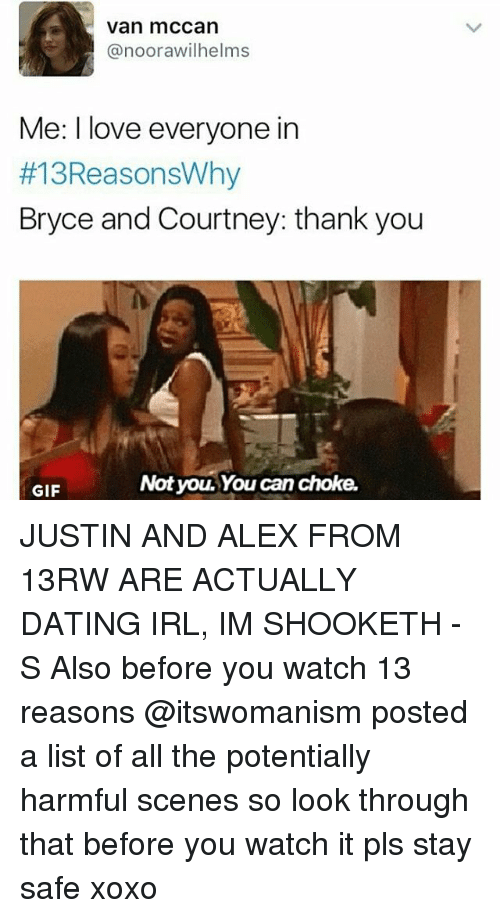 Justin and alex dating