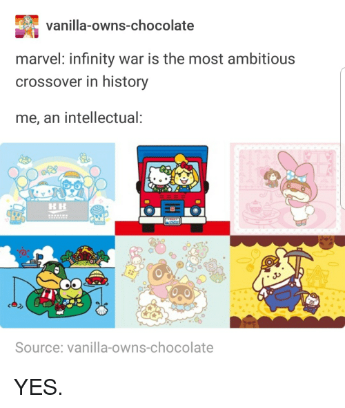 Vanilla-Owns-Chocolate Marvel Infinity War Is the Most Ambitious