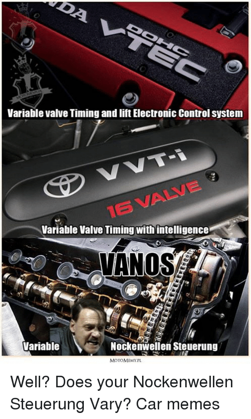 variable valve timing and iftelectronic control system vvt i variable valve 562521 ✅ 25 best memes about valve time valve time memes