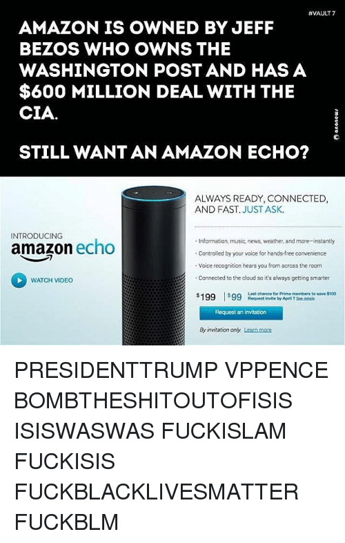 vault 7 amazon is owned by jeff bezos who owns 16143038 vault 7 amazon is owned by jeff bezos who owns the washington post