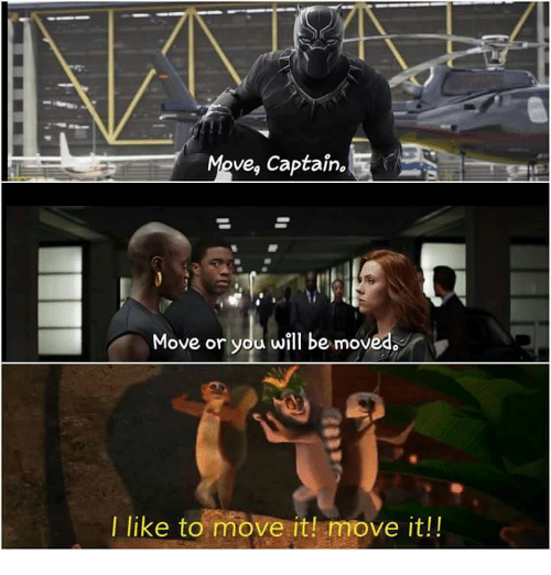 i like to move it