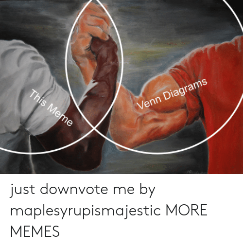 Dank, Memes, and Target: Venn Diagrams just downvote me by maplesyrupismajestic MORE MEMES
