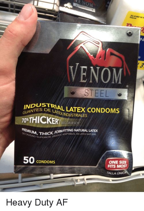 Think, Thick heavy condoms