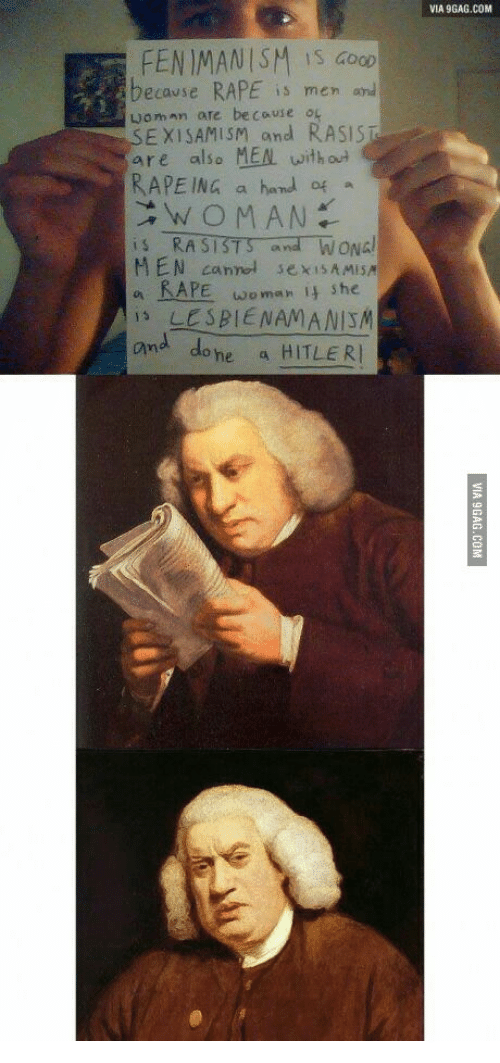 via 9gag com fenimanism is doop rape is men and ecause 13922234 25 best what the fuck did i just read painting memes rapely memes