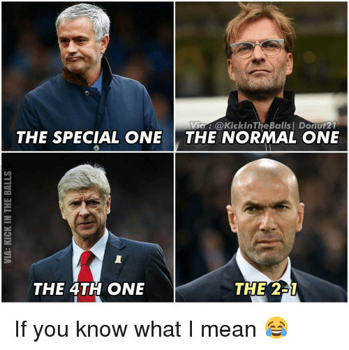 Memes, 🤖, and The Specials: Via C KickinTheBalls I Donut21  THE SPECIAL ONE  THE NORMAL ONE  THE 4TH ONE  THE 2 If you know what I mean 😂