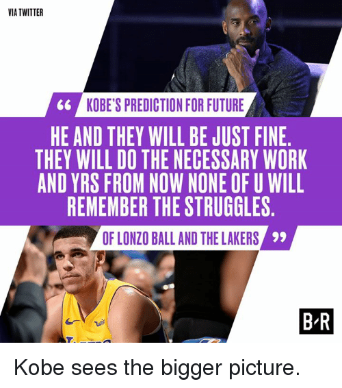 158faf711 Via TWITTER 6  KOBE S PREDICTION FOR FUTURE HE AND THEY WILL BE JUST ...
