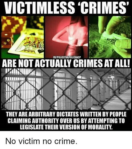 Image result for cannabis a victimless crime