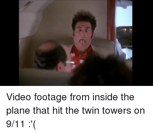 Video Footage From Inside the Plane That Hit the Twin Towers on 911
