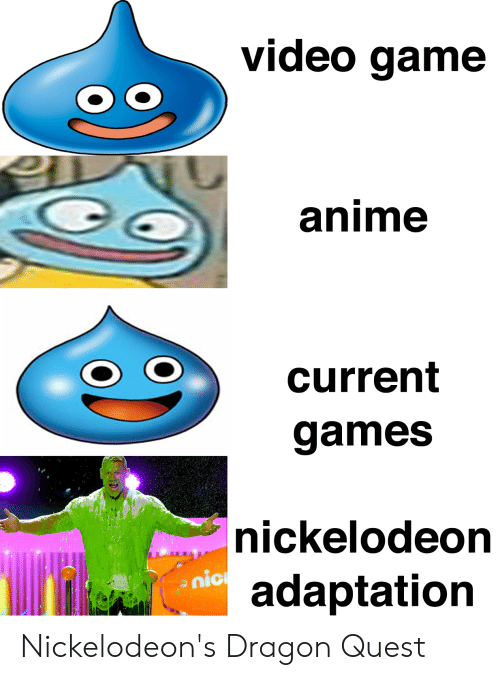 Video Game Anime Current Games |Nickelodeon Nic Adaptation