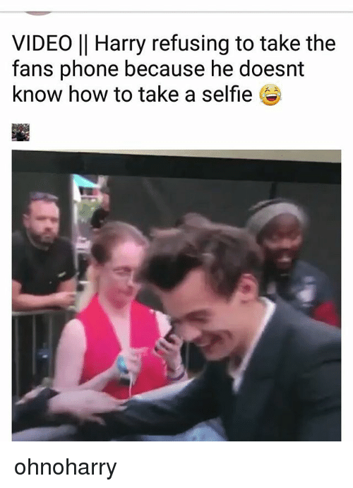How to take a selfie video