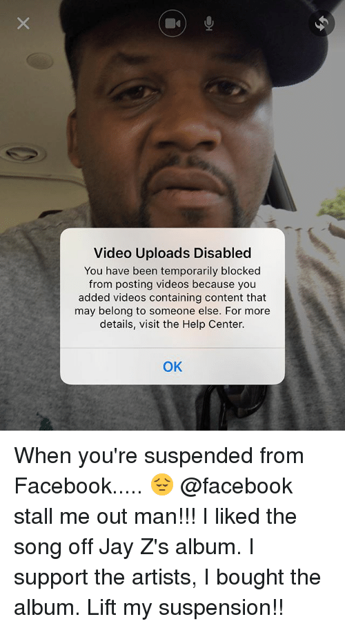video uploads disabled you have been temporarily blocked from posting 25926424 video uploads disabled you have been temporarily blocked from
