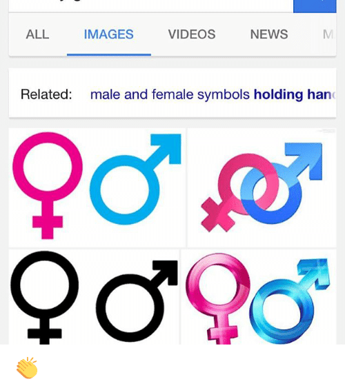 Videos All Images News Related Male And Female Symbols Holding Han