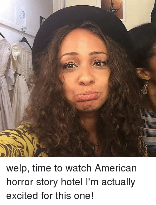 American Horror Story, Memes, and American: Villi-in, welp, time