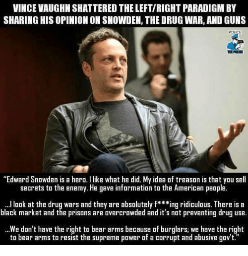 vince vaughn shattered the left right paradigm by sharing his opinion 25043917 ✅ 25 best memes about the right to bear arms the right to bear,The Right To Bear Arms Meme